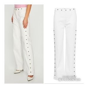 Levi's Made & Crafted Union Trouser pant jeans wht